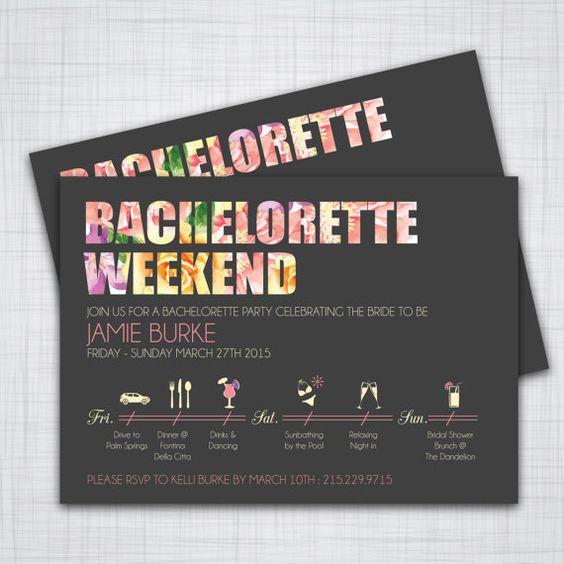 Invitación a un fin de semana inolvidable.