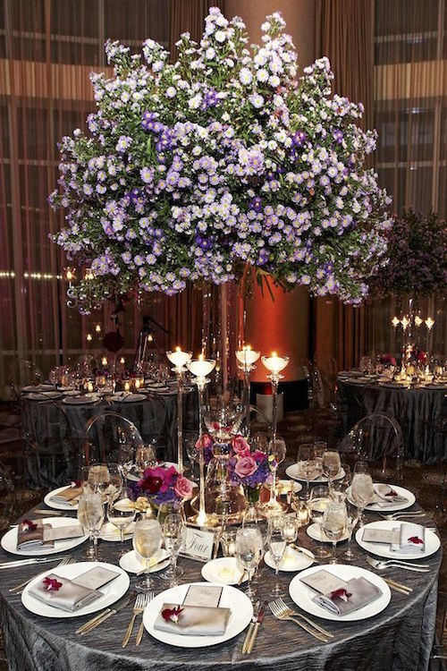 Absolutely gorgeous and finally, a centerpiece that makes a statement while you can still see the person across the table from you!