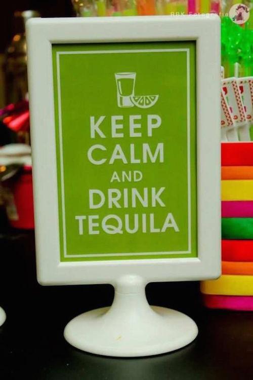 ¿Qué mejor ocasión para abrir esa botella de sabroso tequila que el día de tu boda? Tus invitados pasarán un buen rato (pero no nos responsabilizamos de lo bien que se sentirán la mañana siguiente!)
