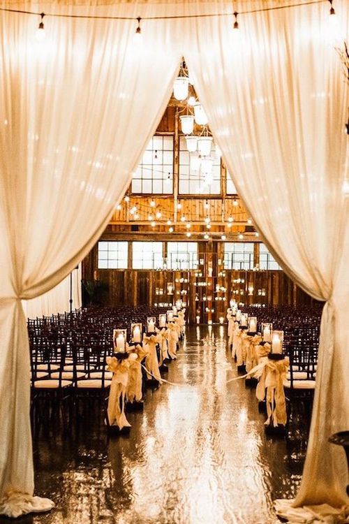 Urban loft style wedding venue with authentic Seattle atmosphere.