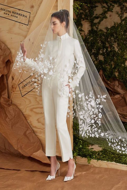 The best bridal fashion and wedding dresses from Bridal Week Spring 2017 by Carolina Herrera.