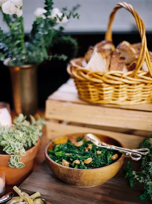 Go local with your wedding food by Purslane Catering. Photography: Kate Ignatowski.