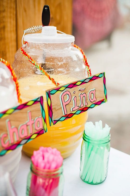 A wedding in Palm Springs at Korakia Pensione with nods to the groom's Mexican heritage. Photography: Erin J Saldana.