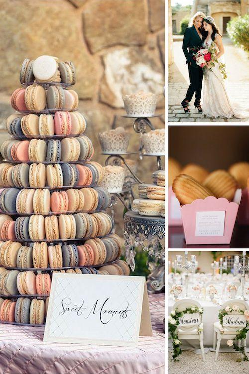 French vintage wedding inspiration
