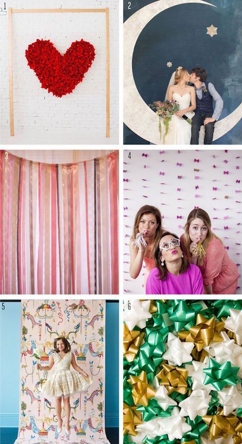 Ideas para que hagas el Photo Booth de tu boda.