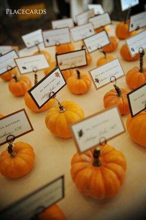 ¿Te casas en otoño? Agrega estilo, creatividad y color a tu boda otoñal.