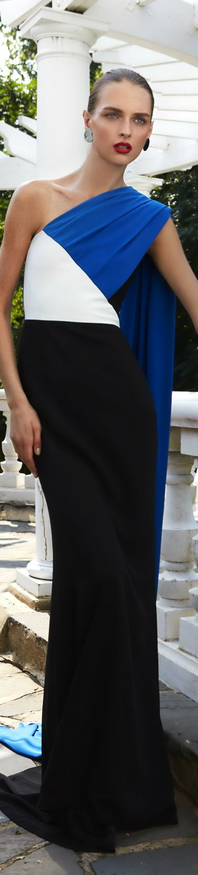 Un vestido elegantísimo de la colección 2017 de Elizabeth Kennedy.