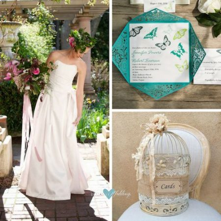 Una suelta de mariposas en tus invitaciones de boda. Románticas, juveniles y con el significado de una nueva vida que comienza.