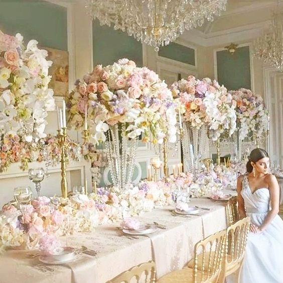 Paris Themed Wedding Reception Ideas: French Wedding Ideas: Trending & Fabulously Chic