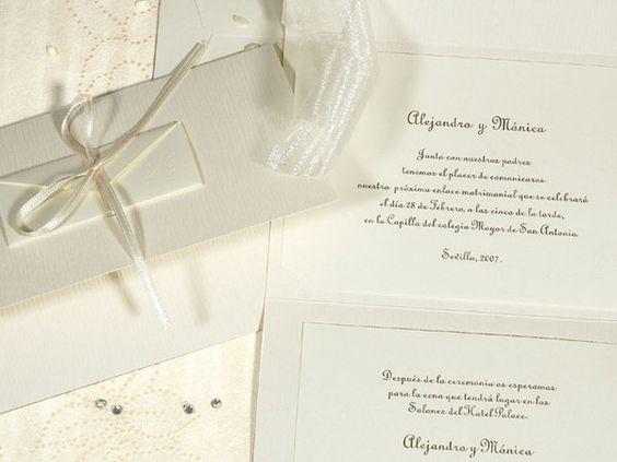 Protocolo para invitaciones de boda: te lo contamos TODO aquí en el blog!