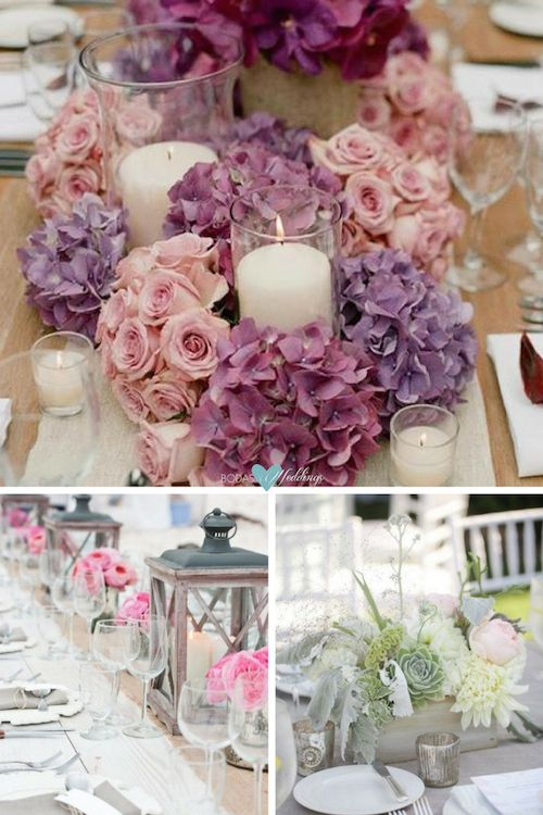 Wedding Table Ideas: What to Put on Wedding Reception Tables.
