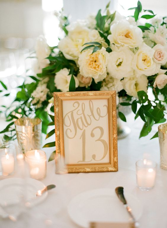 Wedding Table Ideas: W...