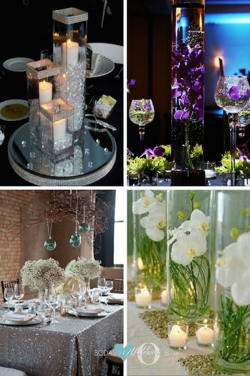 Wedding table ideas what to put on wedding reception tables for Discount wedding reception decorations