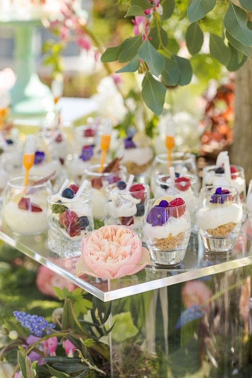 Creative catering ideas. Pair your doughnut walls with liquid nitrogen ice cream bars for the most fabulous shindig! Kalm Kitchen, an original catering company.