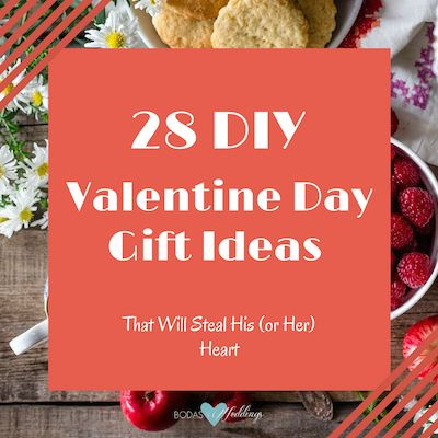 These homemade Valentine Day gift ideas and crafts will make your boyfriend's (or girlfriend's) heart melt with love and appreciation. Simple to DIY, original and inexpensive