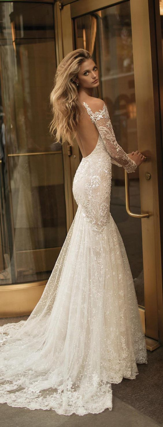 Luxury, lace, and sexiness on Berta Bridal wedding dresses.