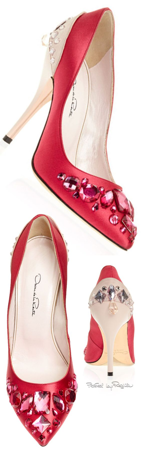 Oscar de la Renta pumps. Would love this gift for Valentine's day!