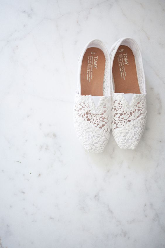 These TOMS Wedding Classics will take you from day to night.