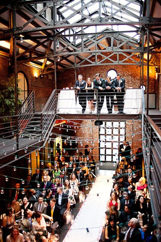 Nine industrial wedding venues in new york that are a must see for Wedding venues near york
