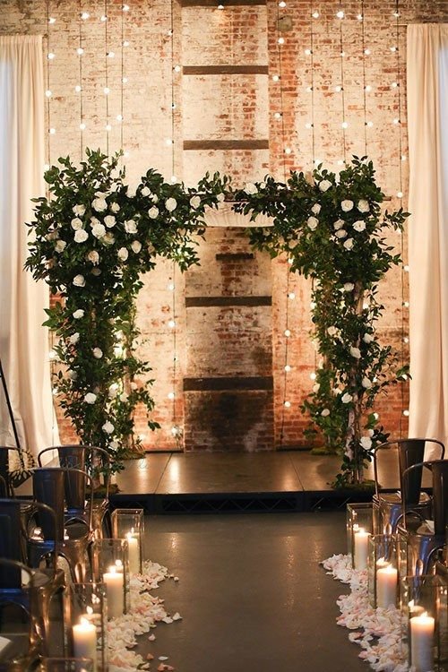 New York City wedding at The Green Building in Brooklyn built in 1889 as a brass foundry.