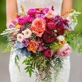 With careful planning in the months leading up to the ceremony, you'll be able to get hitched without a hitch! Gorgeous garden rose bridal bouquets.