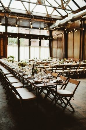 Beauty and old world charm at this industrial style Brooklyn Winery wedding.