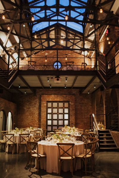 Check out these nine swoon-worthy industrial wedding venues in New York and start booking yours! They go fast! The Foundry. Photography: Christina Szczupak.
