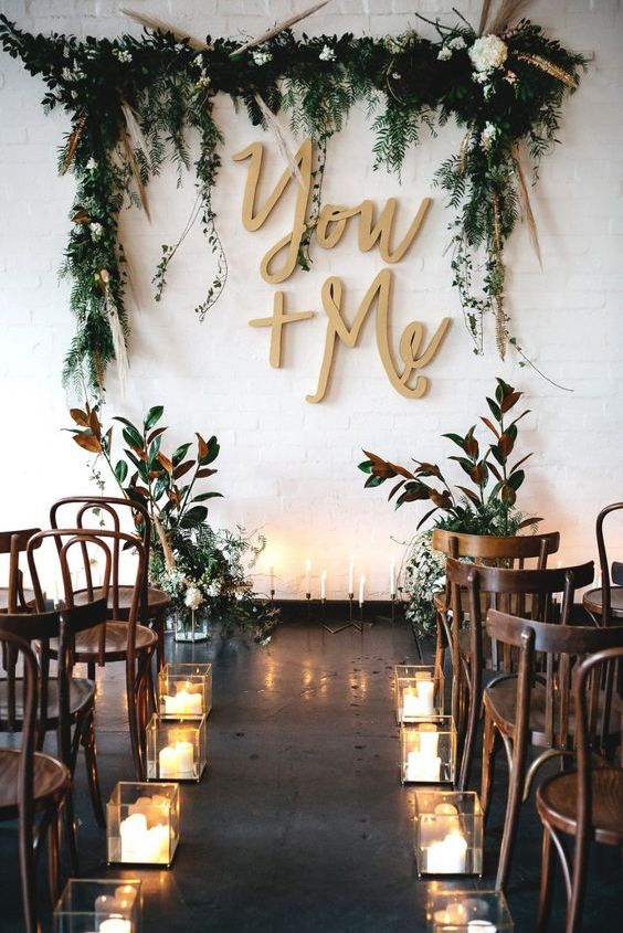 Remember that if you're set on a particular date, you may need to be flexible with your venue. Metallic wedding inspiration at Gather & Tailor warehouse West Melbourne.
