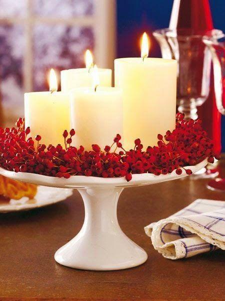 Romantic Valentine dinner table.