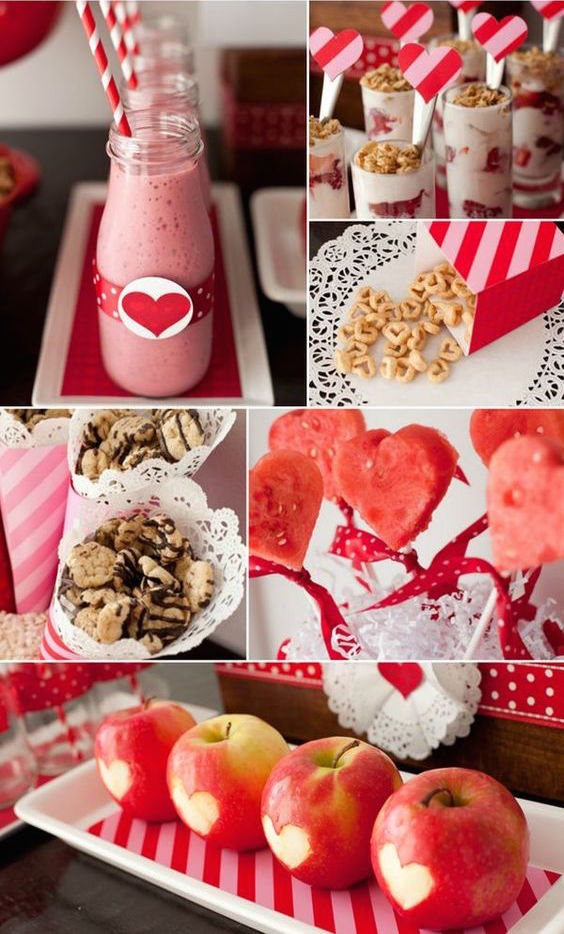 A few cute touches and he will love these sweet but healthy Valentine's day gift ideas.