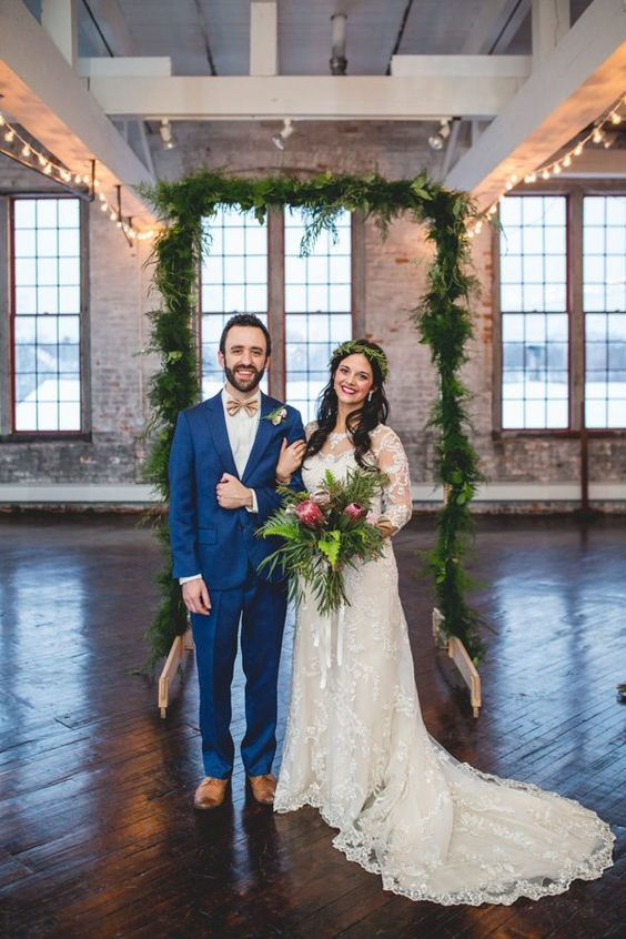 Digging all these chic industrial vibes. Photo: Ebersole Photography.