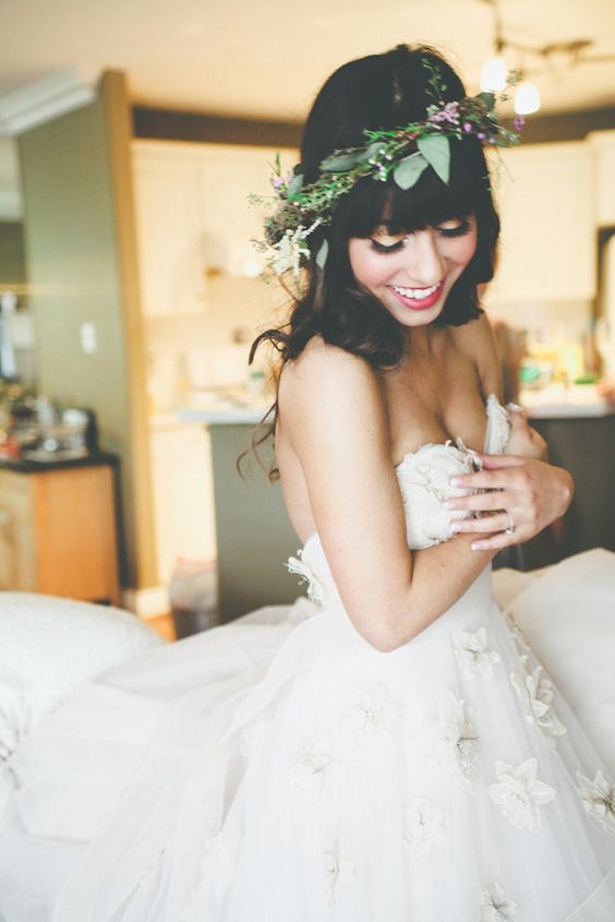 Don't buy the first wedding dress you try on - make sure it's the dress of your dreams.