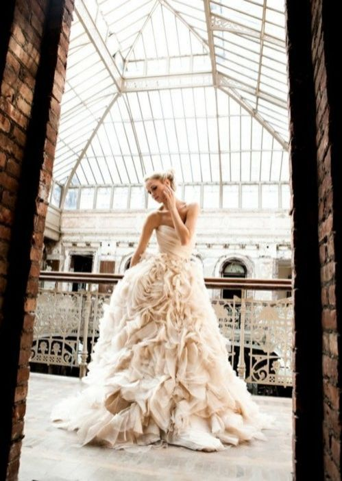 Have you just started to plan your wedding? Begin looking at wedding gowns asap!