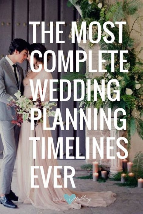 The most complete wedding planning timeline ever! Photography: Sara Winward.