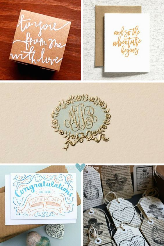 Charming cards for wedding wishes. Personalized stationary, cute cards and more...