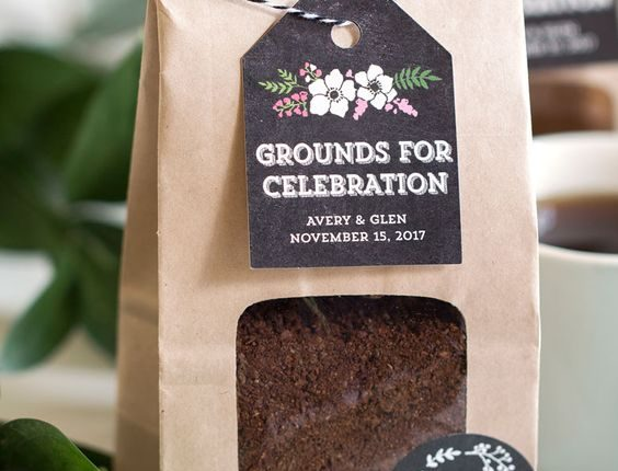 Coffee bags that are Grounds for Celebration!