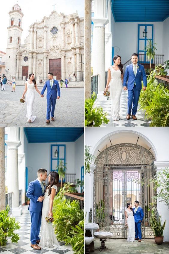 Cuban wedding, inspiration from a wedding in Havana, Cuba! Wedding photography: ayenlanour..