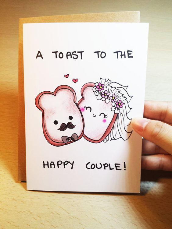 Funny Wedding Card.