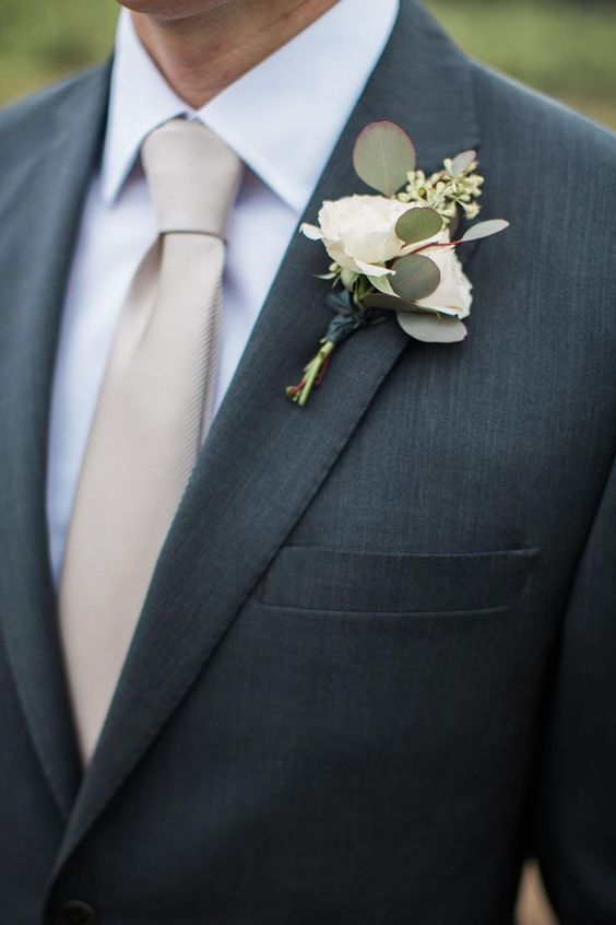 Groom S Tie How To Choose The Right Color And Style For