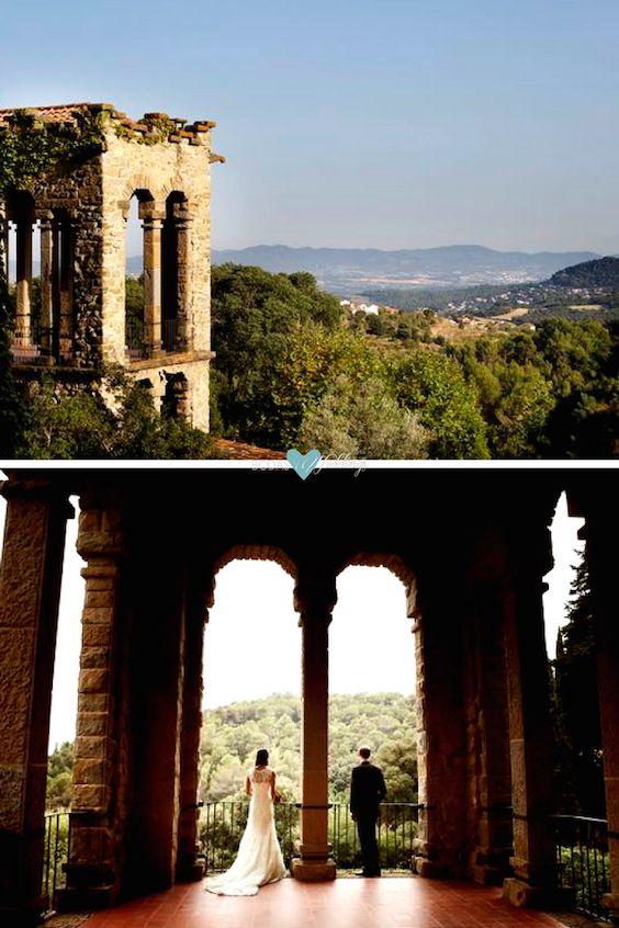 Imagínate esta vista en el dia de tu boda: La Baronia, Barcelona.
