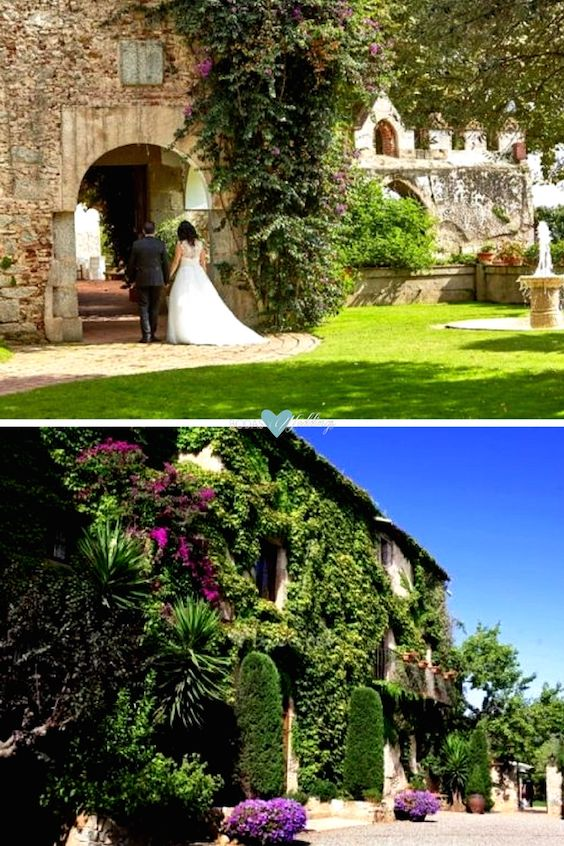 Castell de L'Oliver y El Paratge. dos increíbles Masías para bodas con vistas al mar en el Maresme.