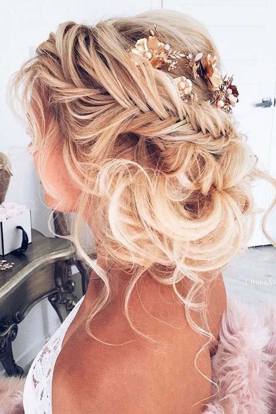 New Hairstyle For Wedding 2017 : Best and dreamiest trending wedding hairstyles may your