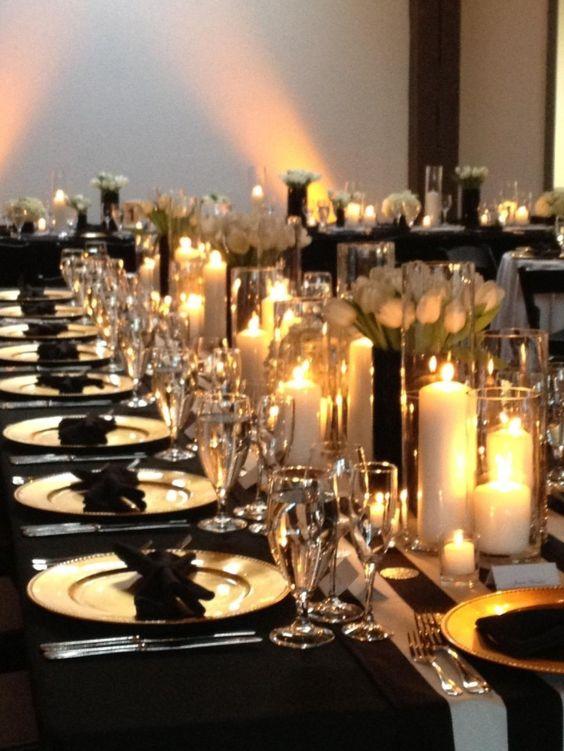 Una boda llena de pequeños detalles que denotan lujo.