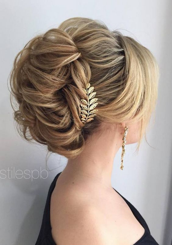 Stylish Braided Half Updo Wedding Hairstyle