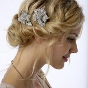 For the romantic bride a bridal chignon. Discover more on our trending wedding hairstyles guide.