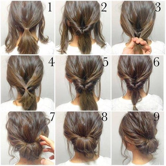 A simple to follow buns hair tutorial.