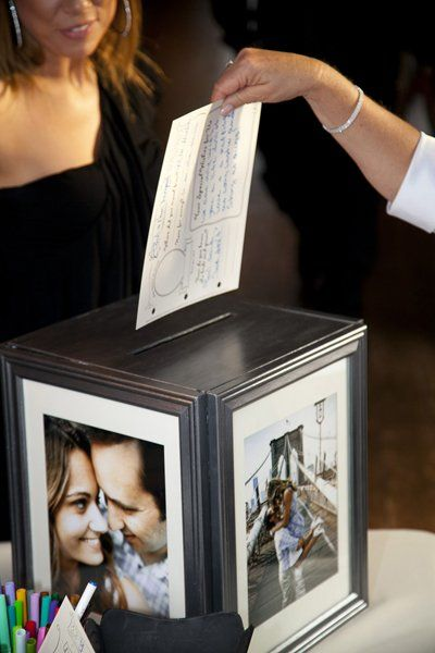 Put Your Gorgeous Engagement Portraits To Good Use With This Easy Multisided Card Box That Lends