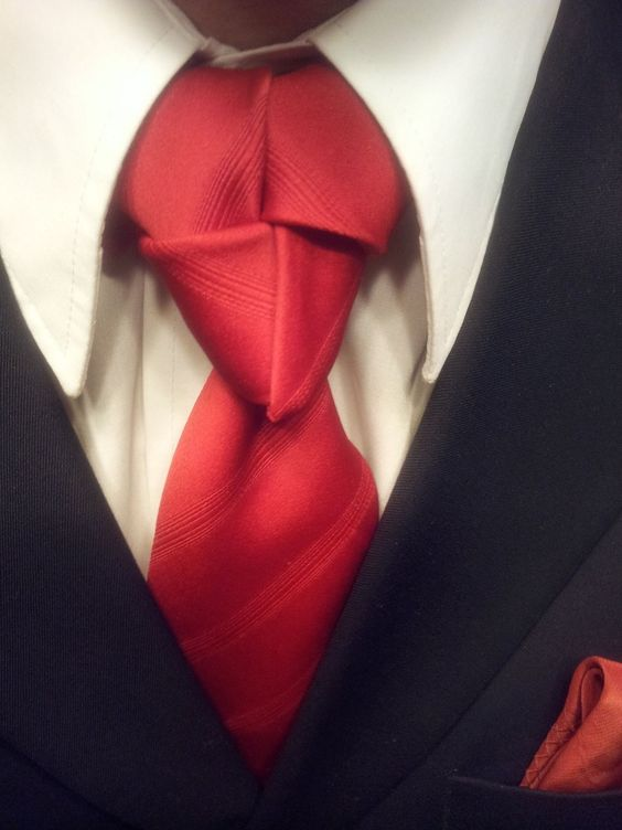 How good are you at tying the knot? Discover how to tie a half windsor knot! (Don't worry, this is not it) ;) Wearing a tie makes you look confident.