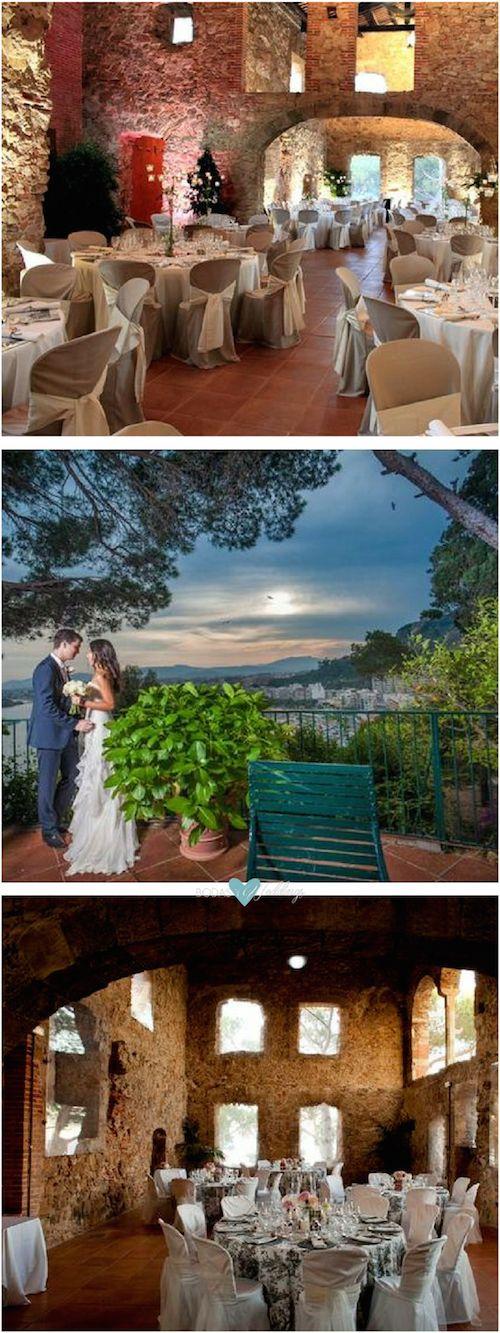 Si te gusta el mar su fragancia y su paisaje debes considerar una masia para bodas con vistas al mar. El Convent, Barcelona.