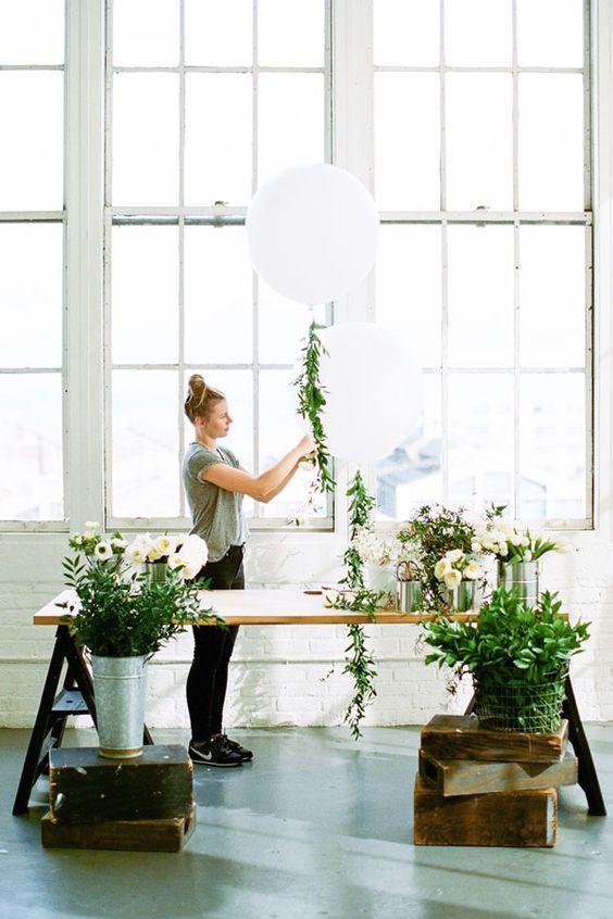 Apartment 34 brings us the most epic wedding floral arrangement.